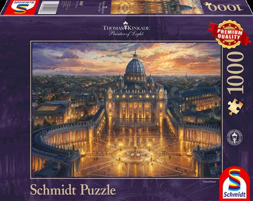 Schmidt Het Vaticaan, 1000 stukjes