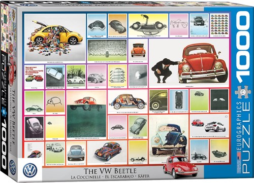 Eurographics puzzle VW Beetle - Käfer - 1000 Teile