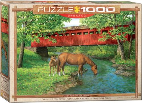 Eurographics puzzle Sweet Water Bridge - 1000 Teile