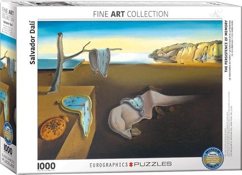 Eurographics puzzle Salvador Dali - Die Beständigkeit der Erinnerung - 1000 Teile