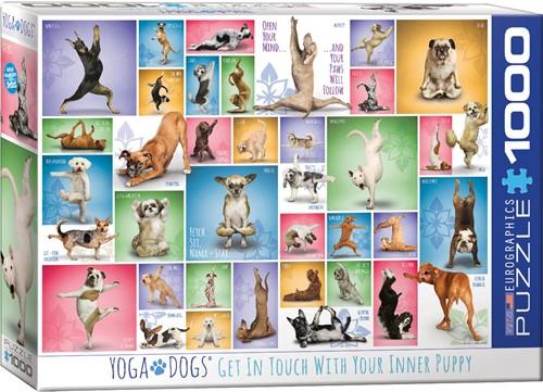 Eurographics puzzle Yoga Dogs - 1000 Teile