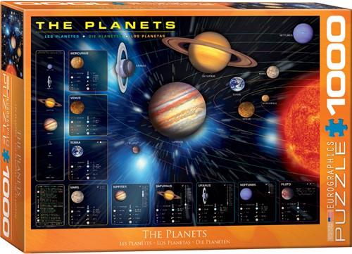 Eurographics puzzle Planeten - 1000 Teile