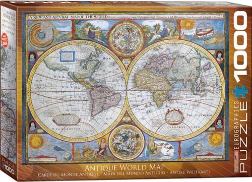 Eurographics puzzle Antike Weltkarte - 1000 Teile
