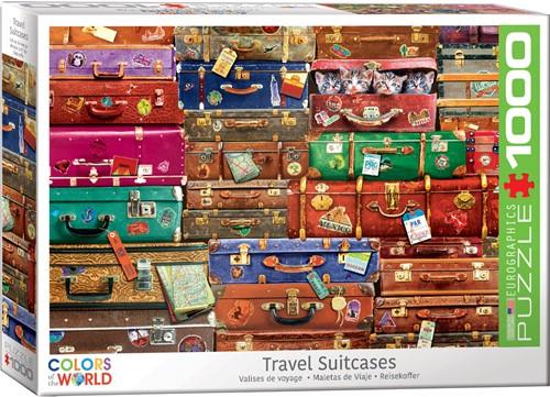 Eurographics puzzle Reisekoffer - 1000 Teile