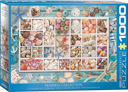 Eurographics puzzle Seashell Collection - 1000 Teile