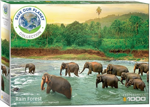Eurographics puzzle Save our Planet Collection - Regenwald - 1000 Teile