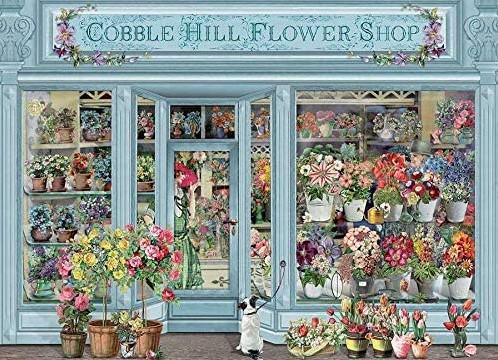 Cobble Hill puzzle 1000 pieces - Parisian Flowers