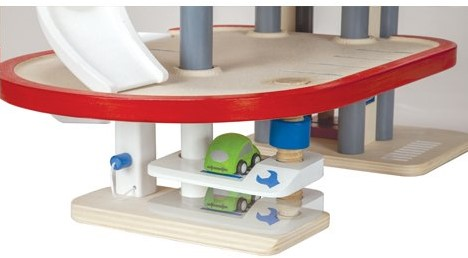 Plan Toys Garage : Plan toys plan city houten parkeer garage planet happy ch