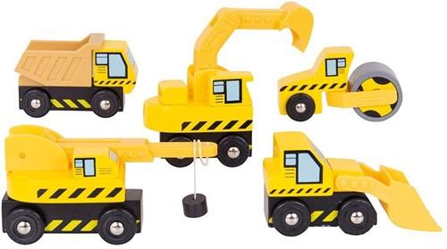 Bigjigs Site Vehicles
