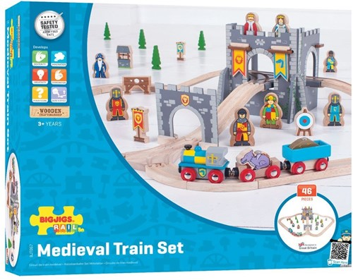 Bigjigs Medieval Train Set