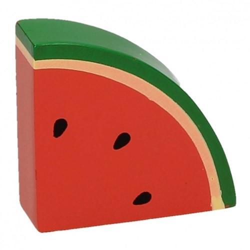 BigJigs Holzküche Zubehör Wassermelone, Stück