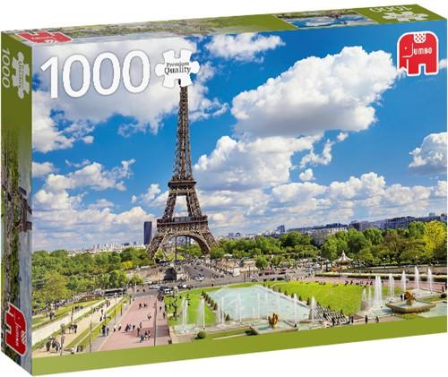 Premium Collection Der Eiffelturm im sommerlichen Paris 1000 Teile