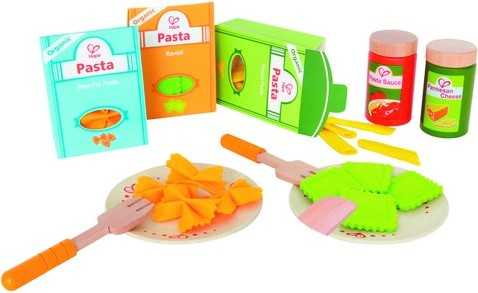 Hape Holzküche Zubehör Pasta-Set