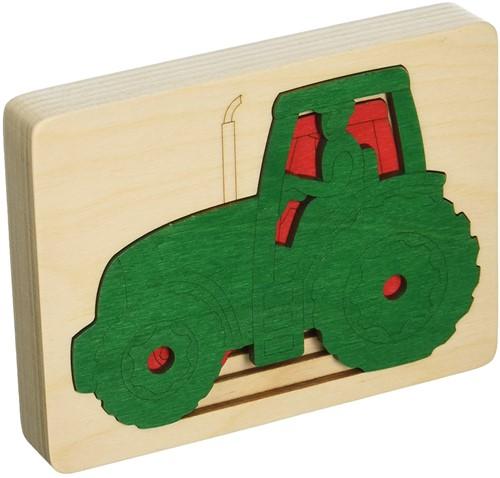 Hape Five tractors