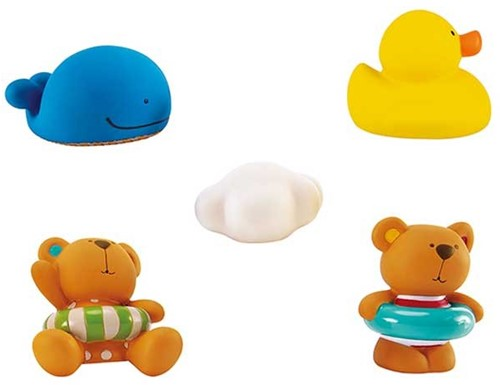 Hape Teddy and Friends Bath Squirts
