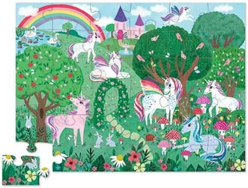 Crocodile Creek 36 pcs Shaped Puzzle/Unicorn Dreams