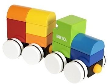 Brio Holzbausteine Neuer Holz-Magnet-Zug 30245