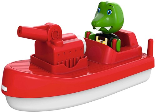 Aquaplay Feuerlöschboot mit Puppe