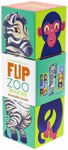Crocodile Creek blokpuzzel Magnetic Blocks/African Animal