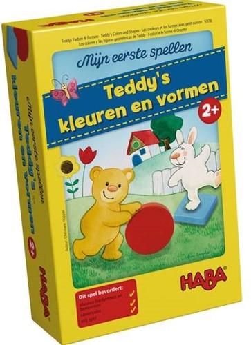 !!! Spel - Mijn eerste spellen - Teddy's kleuren en vormen (Nederlands) = Duits 5878 - Frans 5975