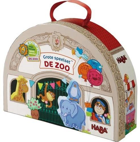 !!! Mijn eerste speelset - De zoo - Grote speelset In de dierentuin (Nederlands) = Duits 7633 - Frans 7635