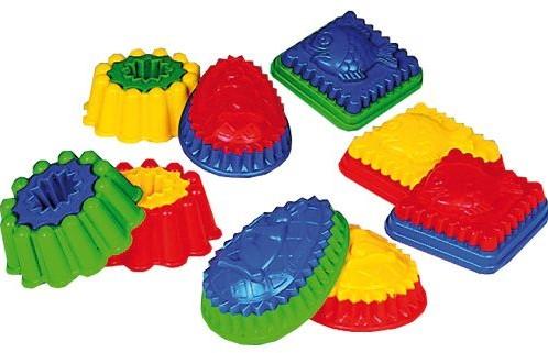 Spielstabil  zandspeelgoed Zandvormpjes