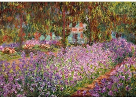 The Artist's Garden in Giverny - Claude Monet (250)
