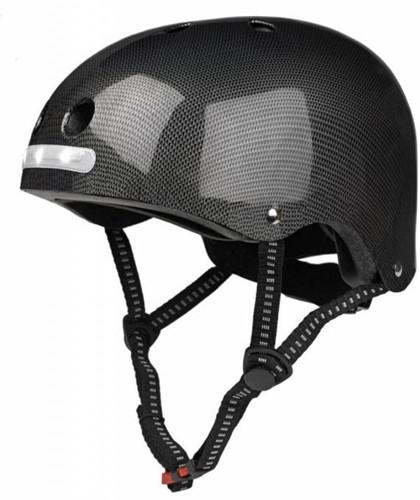 Helm black LED