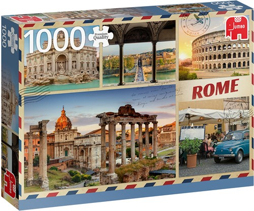 Jumbo puzzel Greetings from Rome 1000 puzzels