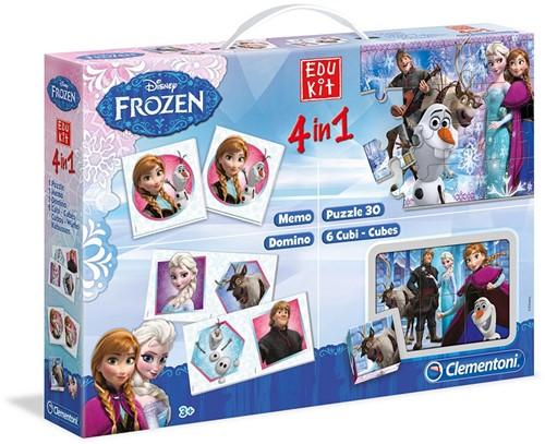 Clementoni Edukit 4in1 Frozen Interaktiv 30 Stück(e)