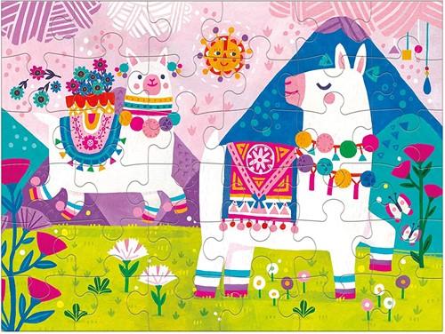 Mudpuppy Puzzle To Go/Llama Land