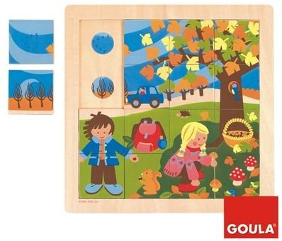 Goula Herbst Puzzle