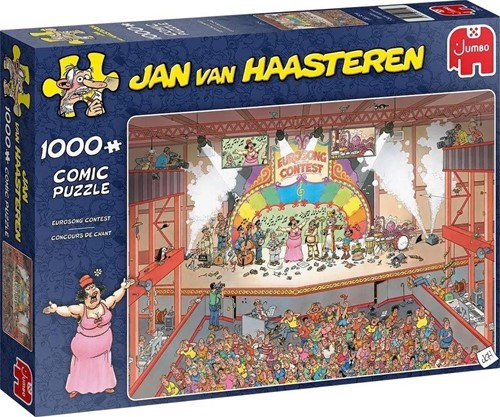 Jumbo puzzel Jan van Haasteren Eurovisie Songfestival - 1000 stukjes