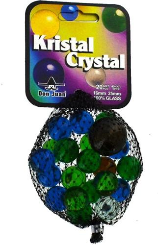Don Juan knikkers Kristal 16mm