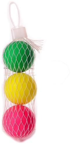 Engelhart 3 Beachball ballen in net