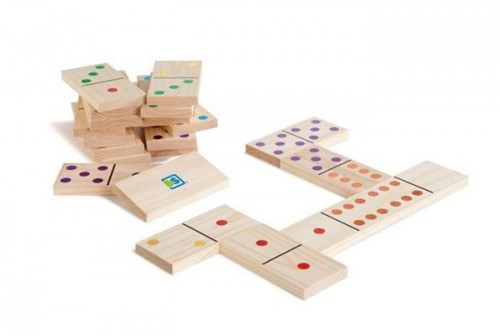 BS Toys Domino (bunt)