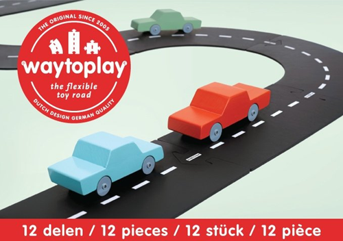 Waytoplay starterset Ringstraße - 12 Stücke