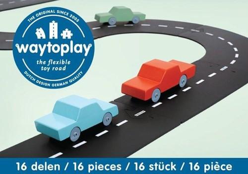 Waytoplay starterset Express-Weg - 16 Stücke
