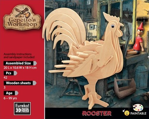 Gepetto's Workshop Rooster
