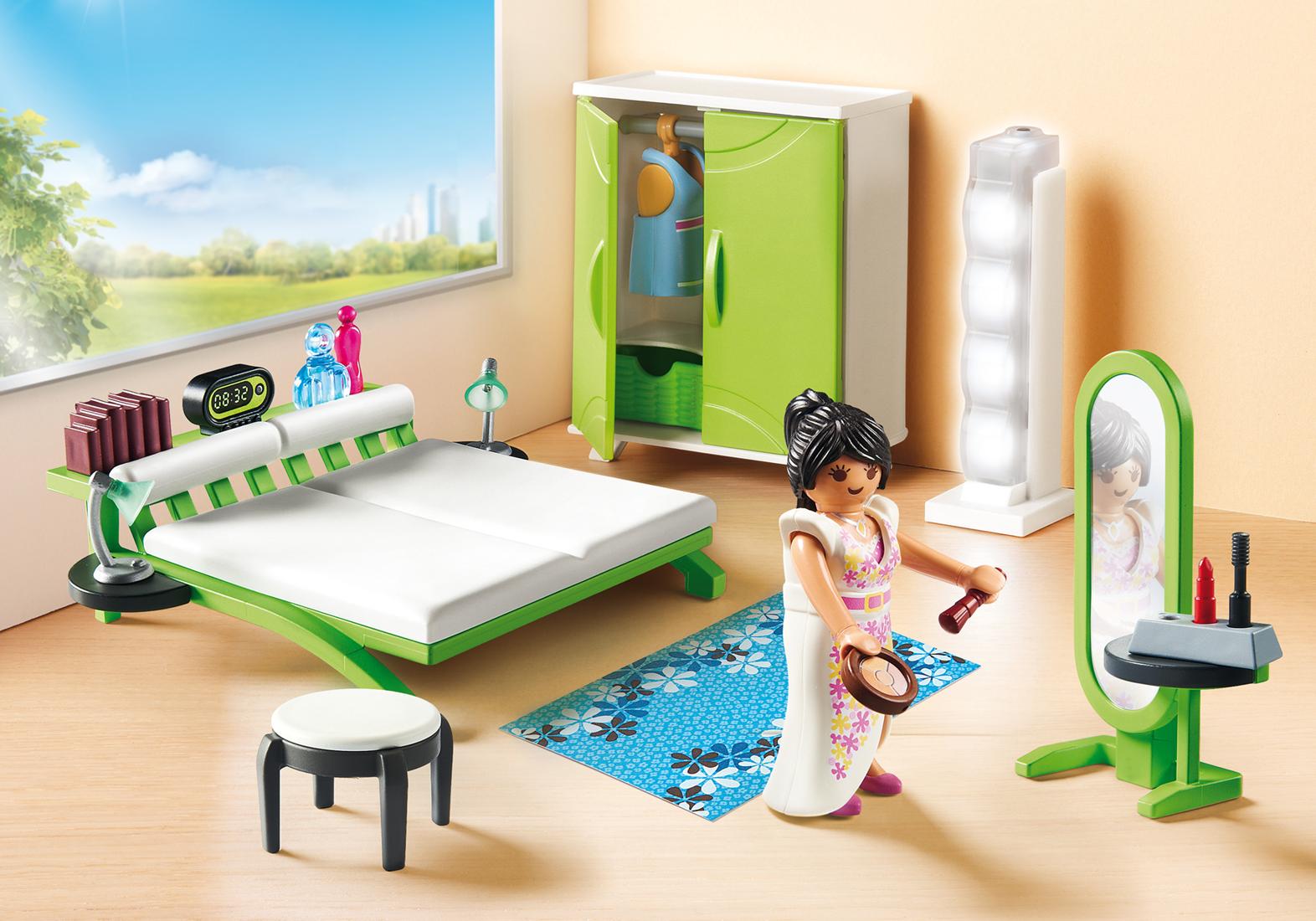 Make Up Tafel : Playmobil city life slaapkamer met make up tafel planet