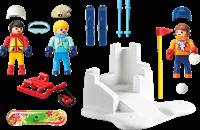Playmobil Family Fun - Sneeuwballengevecht  9283-2