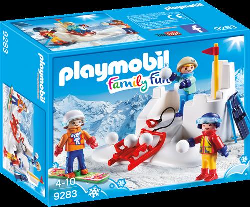 Playmobil Family Fun - Sneeuwballengevecht  9283