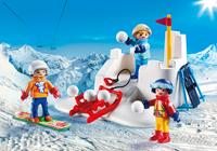 Playmobil Family Fun - Sneeuwballengevecht  9283-3