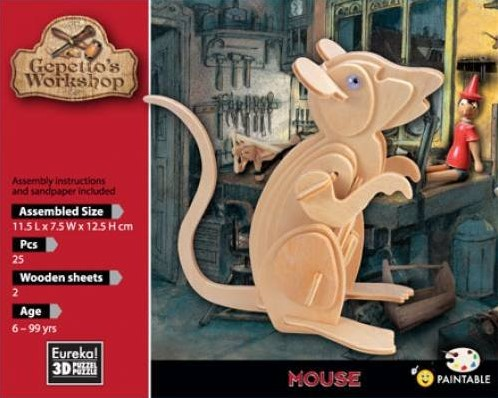 Eureka Gepetto's Workshop - Mouse