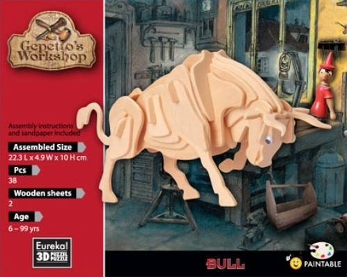 Gepetto's Workshop Bull