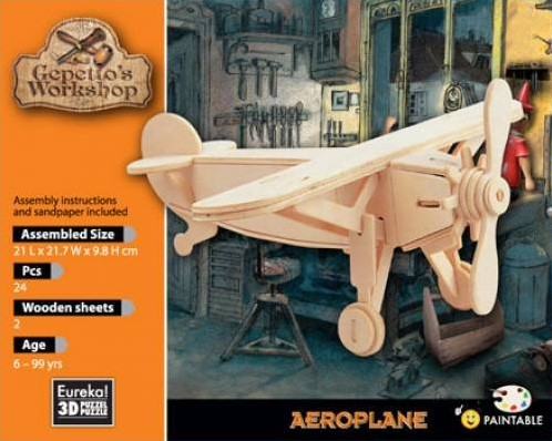 Gepetto's Workshop Aeroplane