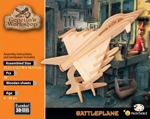 Gepetto's Workshop Battleplane