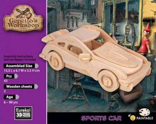 Eureka Gepetto's Workshop - Sports Car