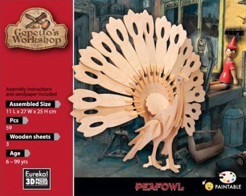 Gepetto's Workshop Peafowl