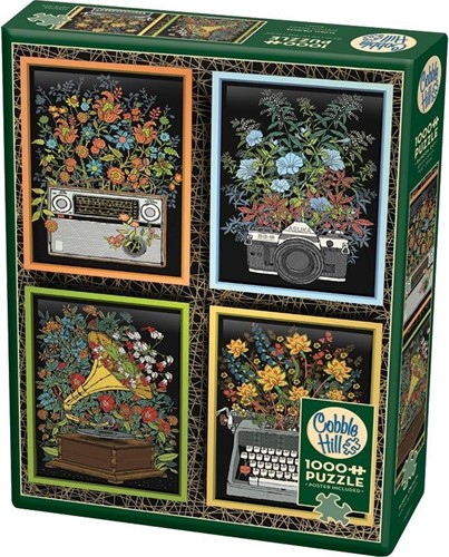 Cobble Hill puzzle 1000 pieces - Floral Objects